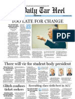 The Daily Tar Heel for February 2, 2012
