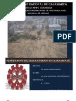 1. Visita técnica al Sureste de Cajamarca Ingeniería de drenaje