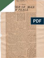 Vaman Hari Pandit (2) on Gandhiji
