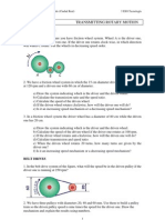 Unidad 5 - Transmission mechanisms - Word problems
