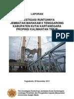 Final Report - Investigasi Jembatan Kukar