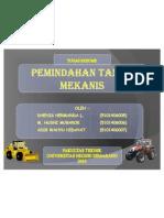 [Presentation] Pemindahan Tanah Mekanis