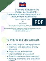 Cambodia_Tonle Sap Poverty Reduction and Smallholder Development