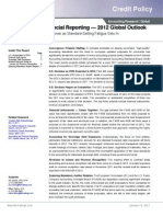 Accounting & Financial Reporting Outlook - 2012