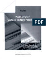 Surface Texture Parameters
