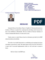 2011_2 ANNUAL REPORT MESSAGE IDSP BANASKANTHA 2011