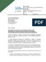 Deceased Payment (Pipeline Flows Fund)