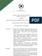 UU 2-2012 Pengadaan Tanah Bagi Pembangunan Kepentingan Umum
