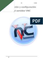 Instalación y configuración del servidor VNC