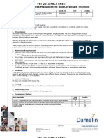 Http Damelin.intranet.co.Za Intranet Fact Sheets 2011 Fact Sheets Dir Part Time School of Business Management Skills Programmes Skills Programme - Project Scheduling.pdf23 201141642