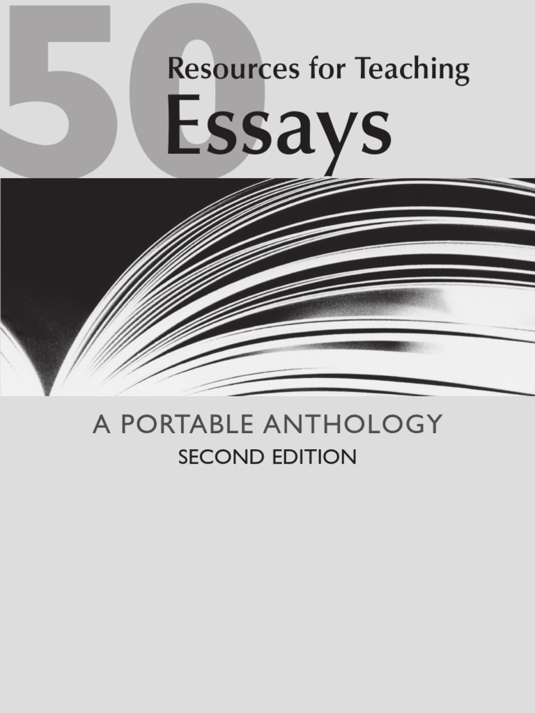 50 essays a portable anthology 2nd edition pdf