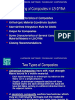 LS-DYNA Guidelines Composite Materials