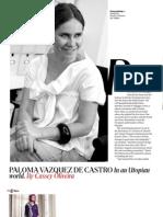Paloma Vazquez De Castro