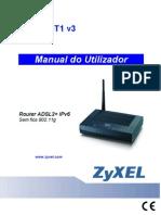Manual Zyxel p660w t1v3