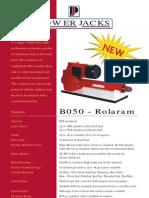 B050 Rolaram Actuator