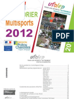 CALENDRIER MULTISPORTS UFOLEP 2012