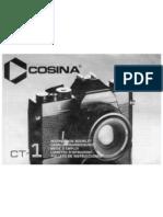 Cosina CT1 Manual