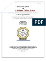 Online National Polling System