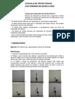 Protocolo de Testes Seletiva 2011