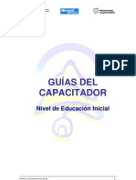 Guias Del Capacitador - Nivel de Educacion Inicial