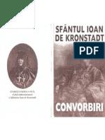 Sfântul Ioan de Kronstadt - Convorbiri