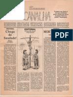 Jornal Banana Canalha.1991.Ed.1 - Bis