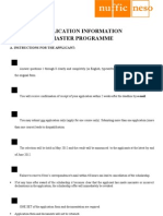 StuNed Form (Master Prog - Deadline 15 Mar 2012)