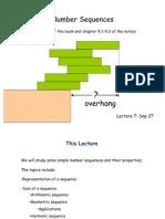 Number Sequences (discrete Maths)
