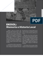 Ekol Memoria e Historia Local