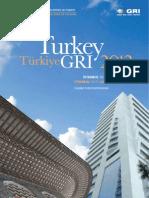 Turkey GRI 2012 Program