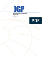 OGP-Human Factors Engineering for Projects