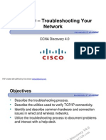 CCNA Dis1 - Chapter 9 - Troubleshooting Your Network [Compatibility Mode]