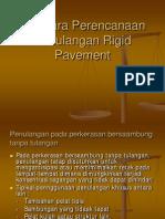 Penulangan Riqid Pavement
