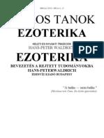 HANS-PETER WALDRICH - Titkos Tanok Ezoterika