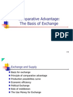 Comparative Advantage - The Basis for Exchange (Chapter 2)