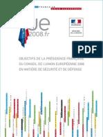 Objectifs Defense Presidence Ue Fr