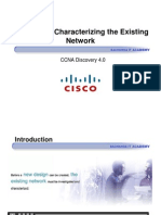 CCNA Dis4 - Chapter 3 – Characterizing the Existing Network_ppt [Compatibility Mode]