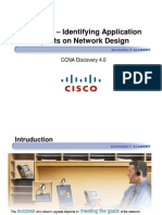 CCNA Dis4 - Chapter 4 - Identifying Application Impacts on Network Design _ppt [Compatibility Mode]