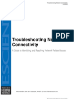 Vision Troubleshooting Network Connectivity