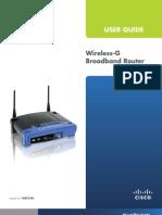 Linksys-Broadband Router WRT54G