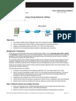 Troubleshooting Using Network Utilities