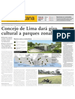 Lima MML Parques Zonales Bibliotecas