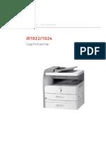 Canon IR1022 1024 Copy Print Fax