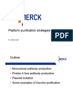 Merck Workshop - Platform Purification Strategies