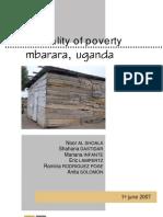The reality of poverty, Mbarara-Uganda