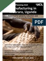 Manufacturing in Mbarara Uganda