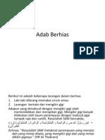 Adab Berhias Ppt