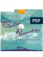 Brochure Contes Et Rencontres 2012