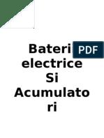 Baterii electrice