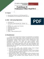Praktikum Penguat Filter 1 Isi